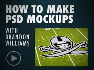 Football Field Photoshop Tutorial & Cloth Mockup - Sports Design Tutorials