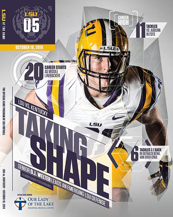 sports design inspiration 6 college football
