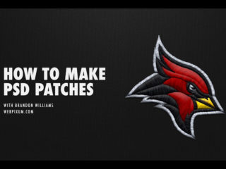 Sports Logo Embroidery Stitch Effect by Brandon Williams