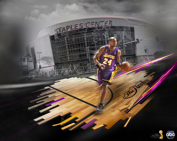 NBA Finals 2009 on ABC by Adomas Jazdauskas on Behance