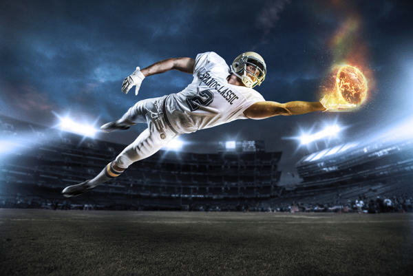 Football Shoot & Retouch by Alex McLeland on Behance