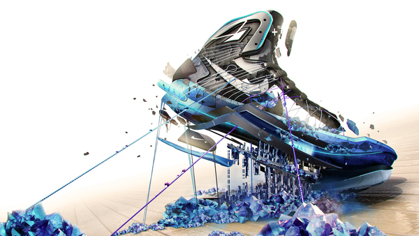 Nike Lunar HyperDunk by Jonathan Kim on Behance