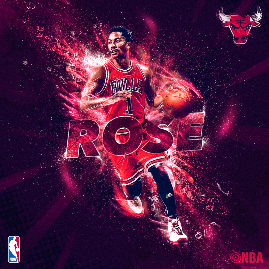 Derrick Rose NBA Social Media Artwork 2 by Ethan Johnston on Behance -  SportsDesign.co