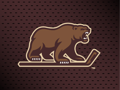 Hershey Bears Logo by Joe Bosack on Dribbble - SportsDesign.co