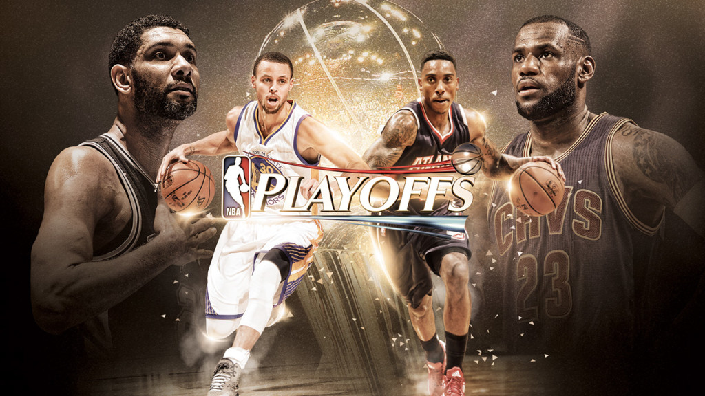 2015 NBA Playoffs on NBA.com by Chris Francis on Behance