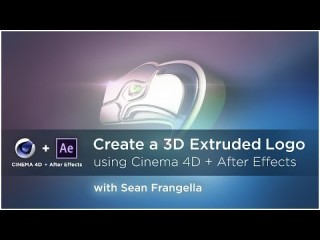 Extrude and Animate a Logo in Cinema 4D and After Effects: Part 1 - Sports Design .co