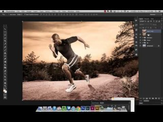 Create a Sports Photo Composite - The Sports Design Blog