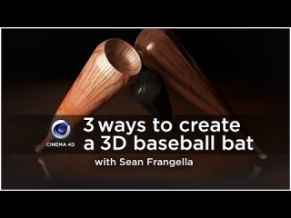 Model and Texture a Baseball Bat in Cinema 4D - Sports Design .co