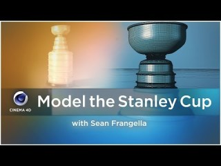 Model the Stanley Cup in Cinema 4D - Sports Design .co