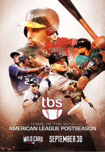 2014 MLB Postseason on TBS by Chris Poppleton - SportsDesign.co - The Sports Graphic Design site