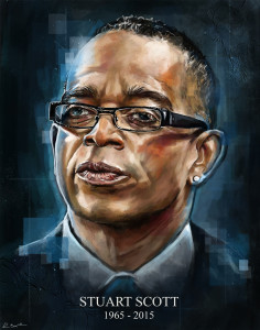 Stuart Scott Tribute Illustration by Robert Bruno
