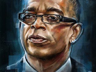 Stuart Scott Tribute Illustration by Robert Bruno - SportsDesign.co - The Sports Graphic Design site