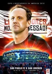 SPFC Poster by Marco Aurélio Valentim
